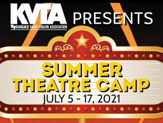 Registration for KVTA's Youth Summer Theatre Camp is Now Open!
