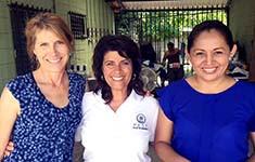 Pest Visits Honduras