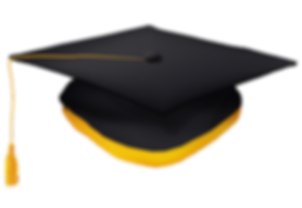 black-graduation-cap-with-gold-tassel-is