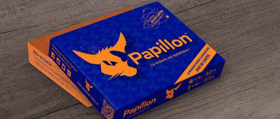 Papillon, Jeu de Cartes, Edition Classic