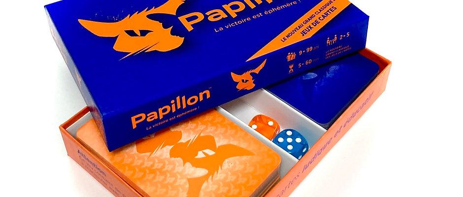 Papillon, Jeu de Cartes