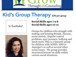 Social Skills Groups Are Back in Eastlake!