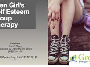 Teen Girl's Group Starting January 16th