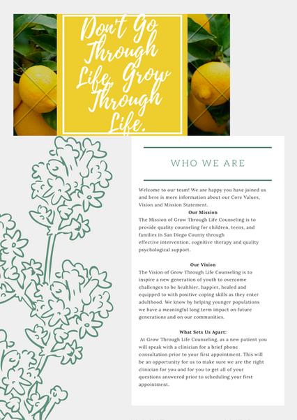 Grow Through Life Counseling Murrieta