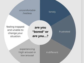 "We are hearing ""I'm Bored"" a lot. Are you bored?"