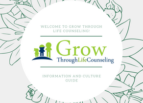 Grow Through Life Counseling Welcome Letter!