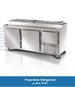 Preperation Refrigerator