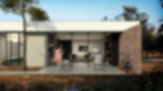 Residência em Rancho Queimado - Fachada Lateral