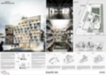 Prancha Concurso Arquitetura Edifício