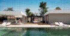 Residência em Rancho Queimado - Fachada Posterior