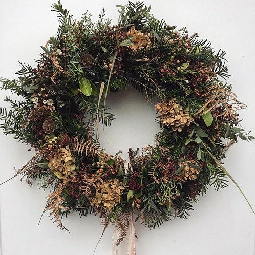 Scandi Style Wreath