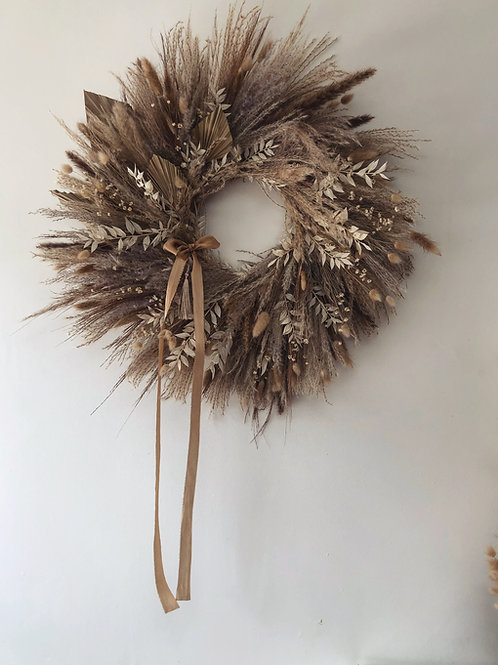 Everlasting Dried Wreath