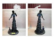 Bourgeoisie (statue faite avec du tissu 100% coton - Technique Paverpol