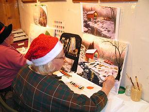 Ateliers libres de peinture à l'huile