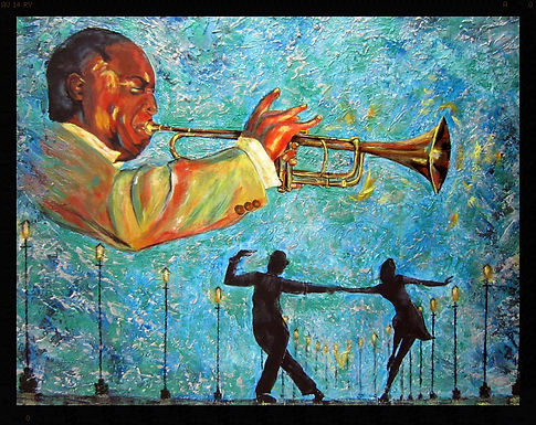 Sur un air de Jazz - Technique Mixte