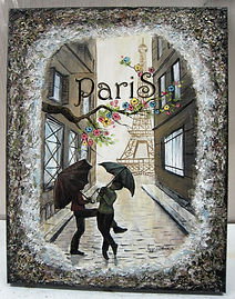 Deux amies à Paris