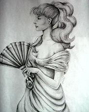 Lolitta - Étude du drapé
