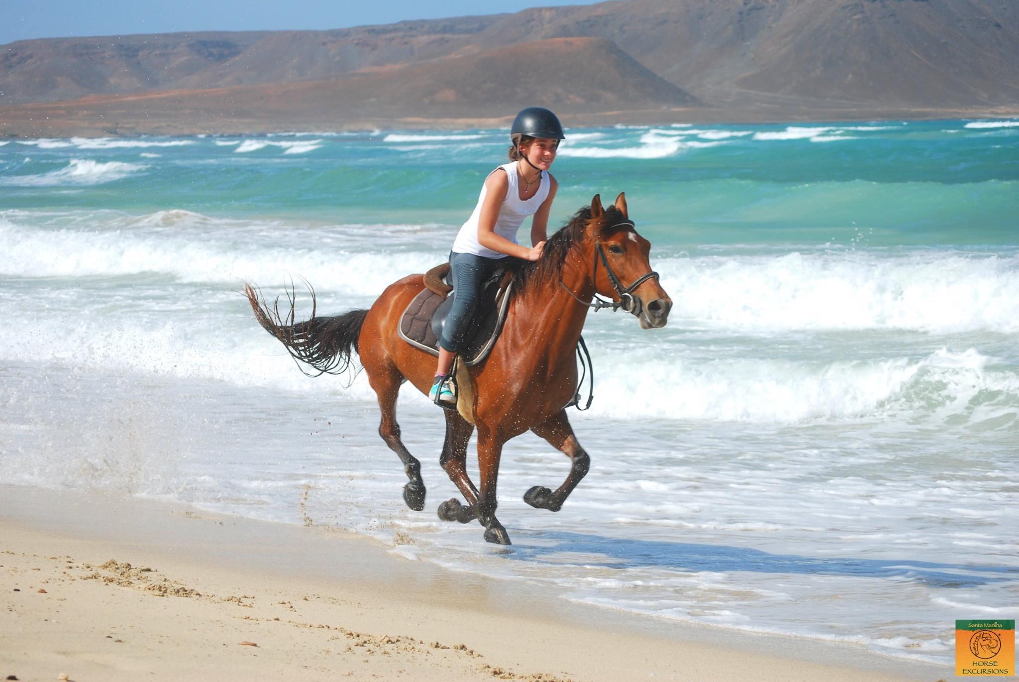 Galloping at Kite Beach