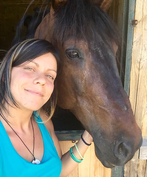 horseback riding dolomiti campitelo di fassa
