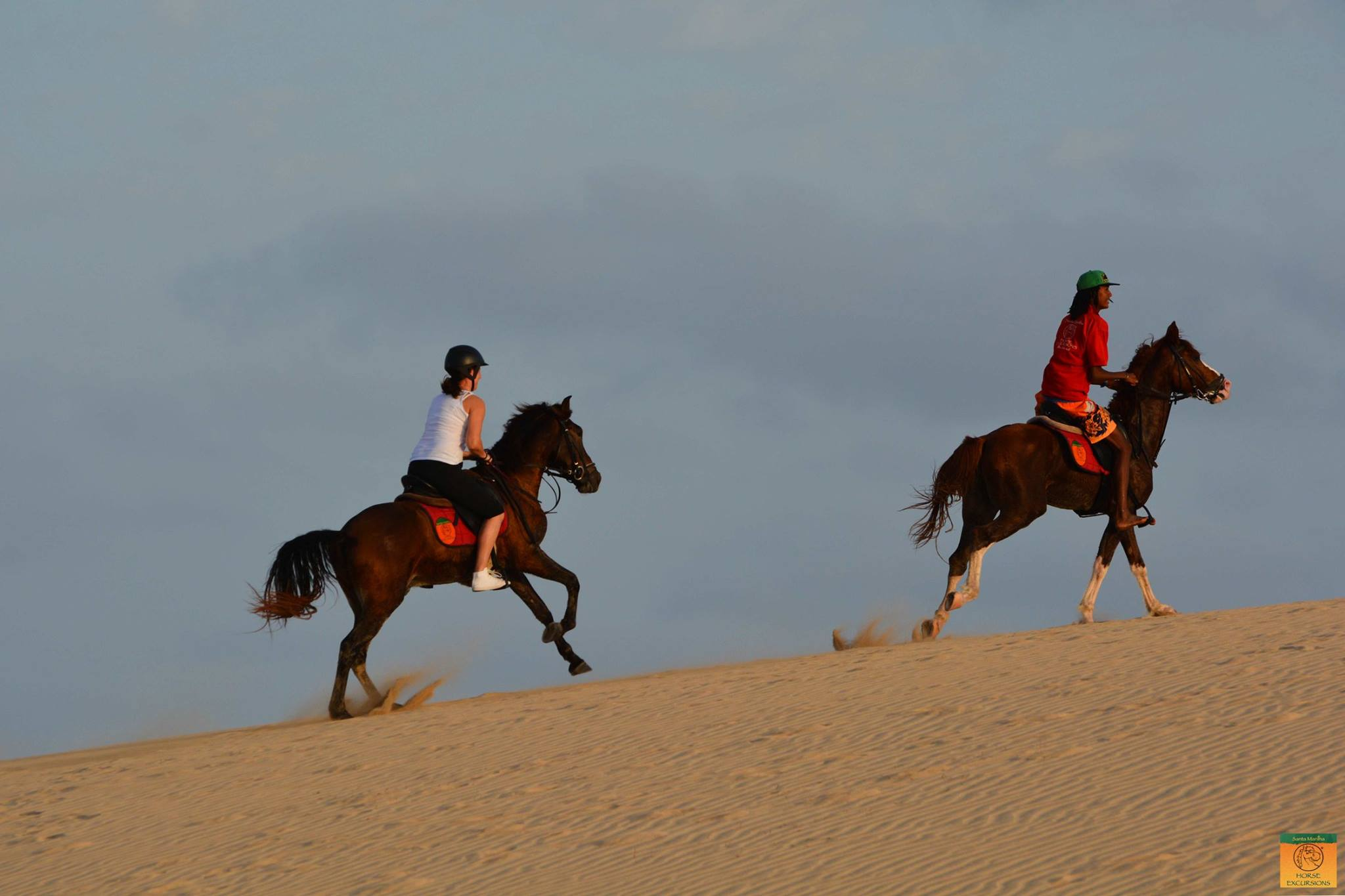 Riding at the Sand Dunes