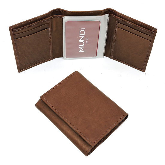 Antique Trifold Mens Wallet