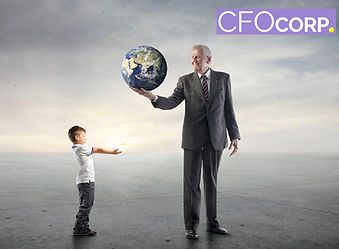 CFO Corp giving business the World