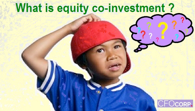 Equity co-investment (What is it ?)