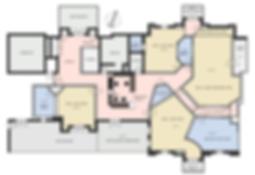 Madhaus studio floor plan