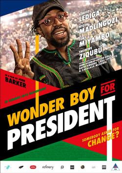 Wonder Boy For President (2016) Movie Poster