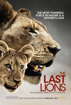 Last Lions (National Geographic 2011) Movie Poster