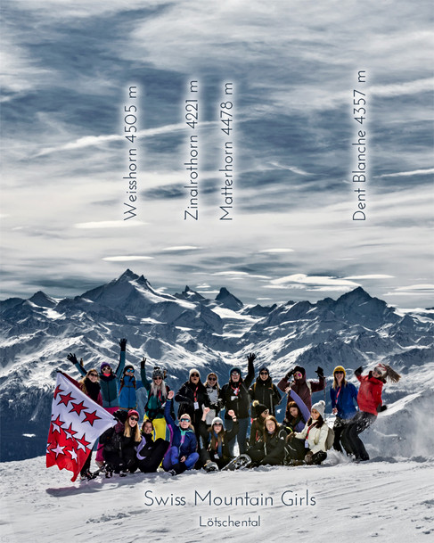 Swiss Mountain Girls