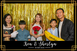 Ken Sherlyn wedding photo booth (2)
