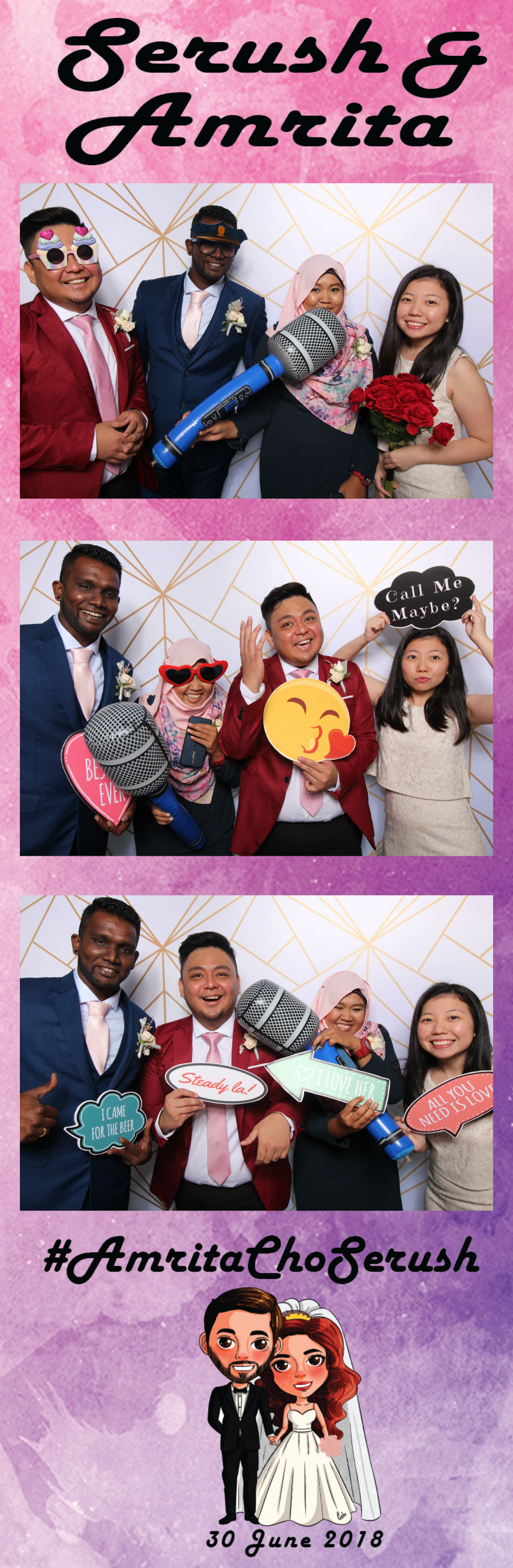 whoots photo booth singapore wedding (1