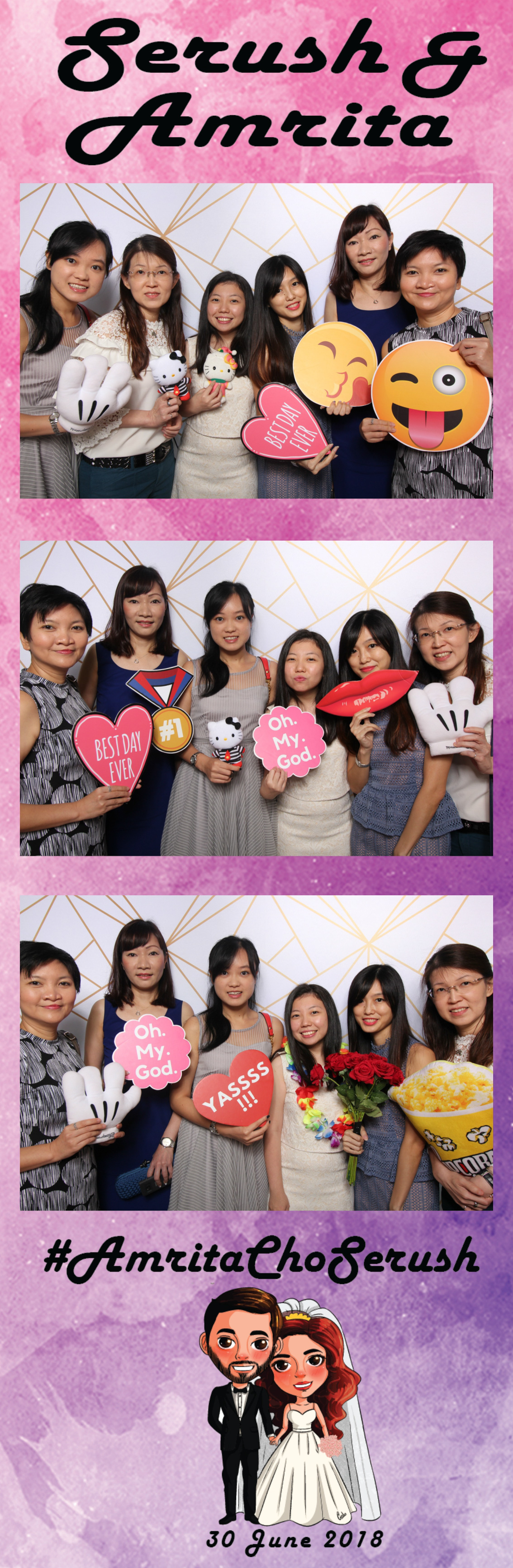 whoots photo booth singapore wedding (7