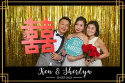 Ken Sherlyn wedding photo booth (1)
