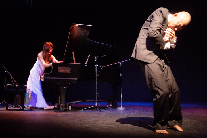 Motoko and Oguri (Butoh)