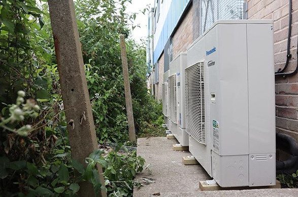 Air conditioning units installed at Medi