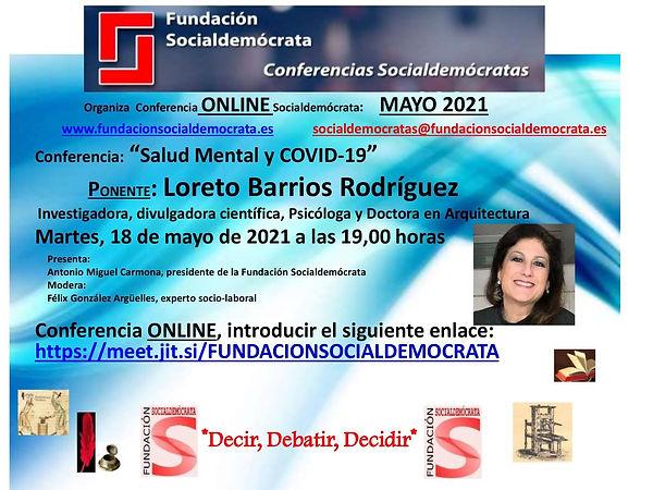Dra. Loreto Barrios Fundación Socialdem