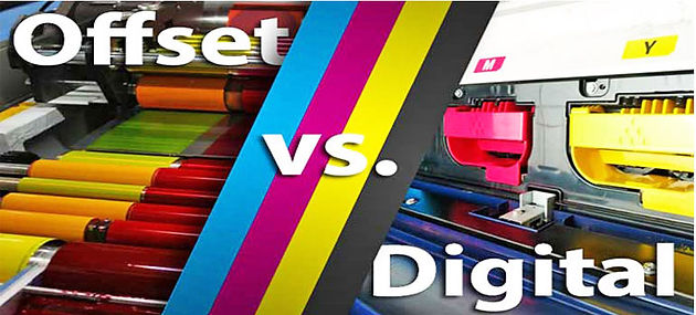 How To Differentiate Digital And Offset Printers?