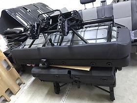 福斯T6原廠三人椅(T5適用)