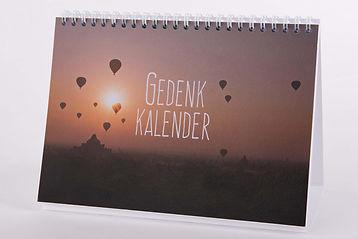 Kalender voor herinneringen | Gedenkkale