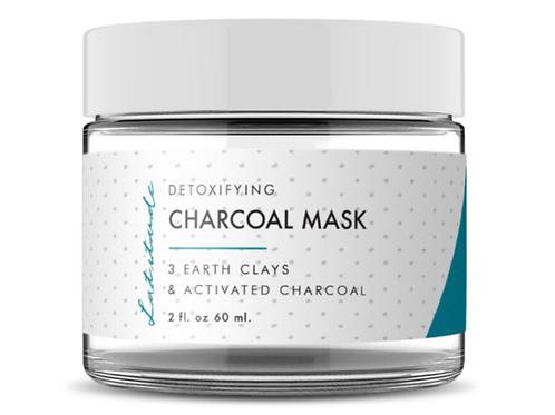 3-Earth Clay Charcoal Mask