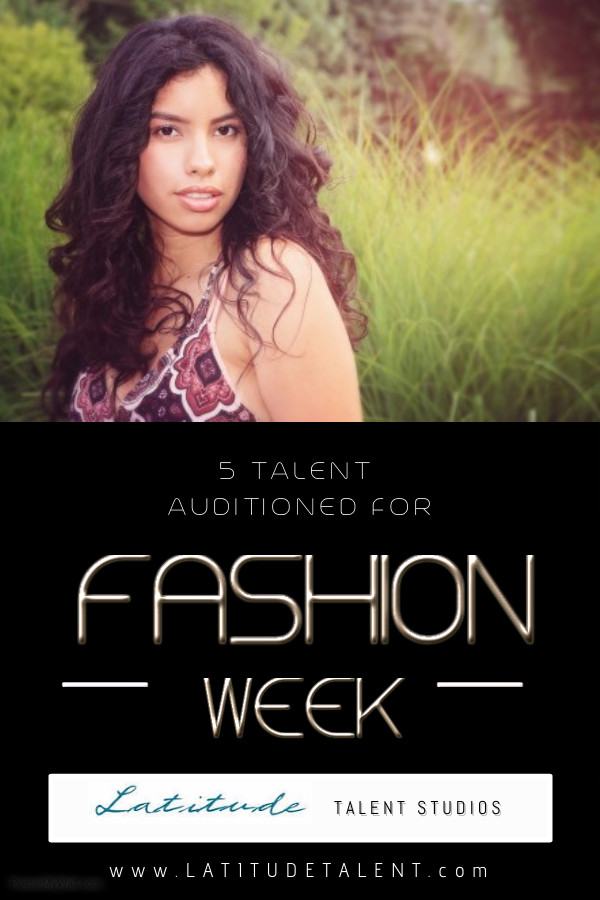 Latitude Talent Reviews NY Fashion Week