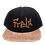 Front Denim Cork 6 panel Snap Back  Hat bmx lifestyle