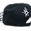 back Black White Hawaiian Camper Hat bmx lifestyle