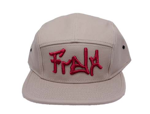 front khaki Camper Hat bmx lifestyle