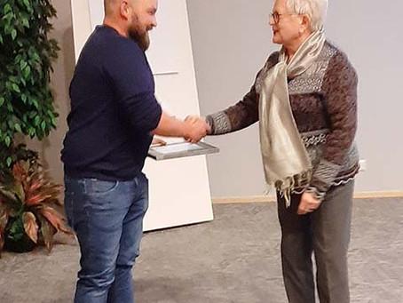 Valtakunnallinen nurmipalkinto 2019 Maitopisara oy:lle Puokiolle
