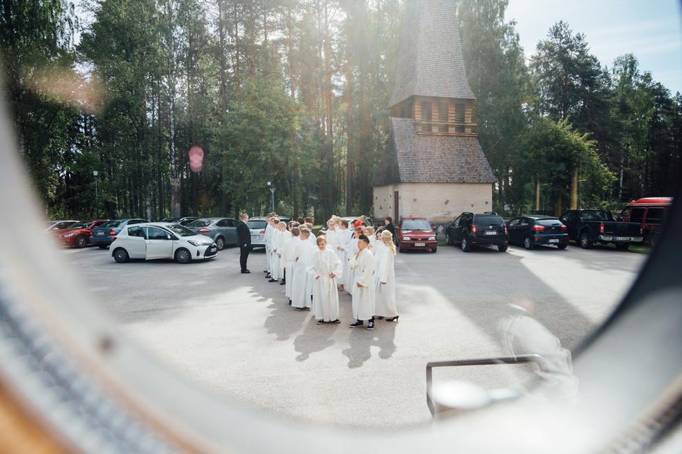 Konfirmaation valokuvaus, Puolanka