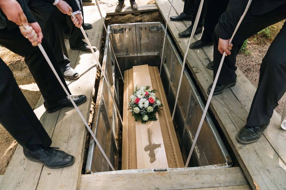 Hautajaiskuvaus, Oulu