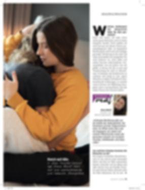Artikel über Elena kuschelt in Graz